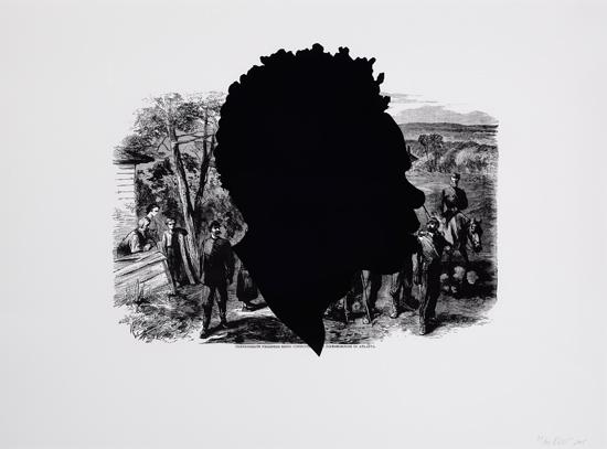 KARA-WALKER-(1969-----)-Confederate-Prisoners-Being-Conducte