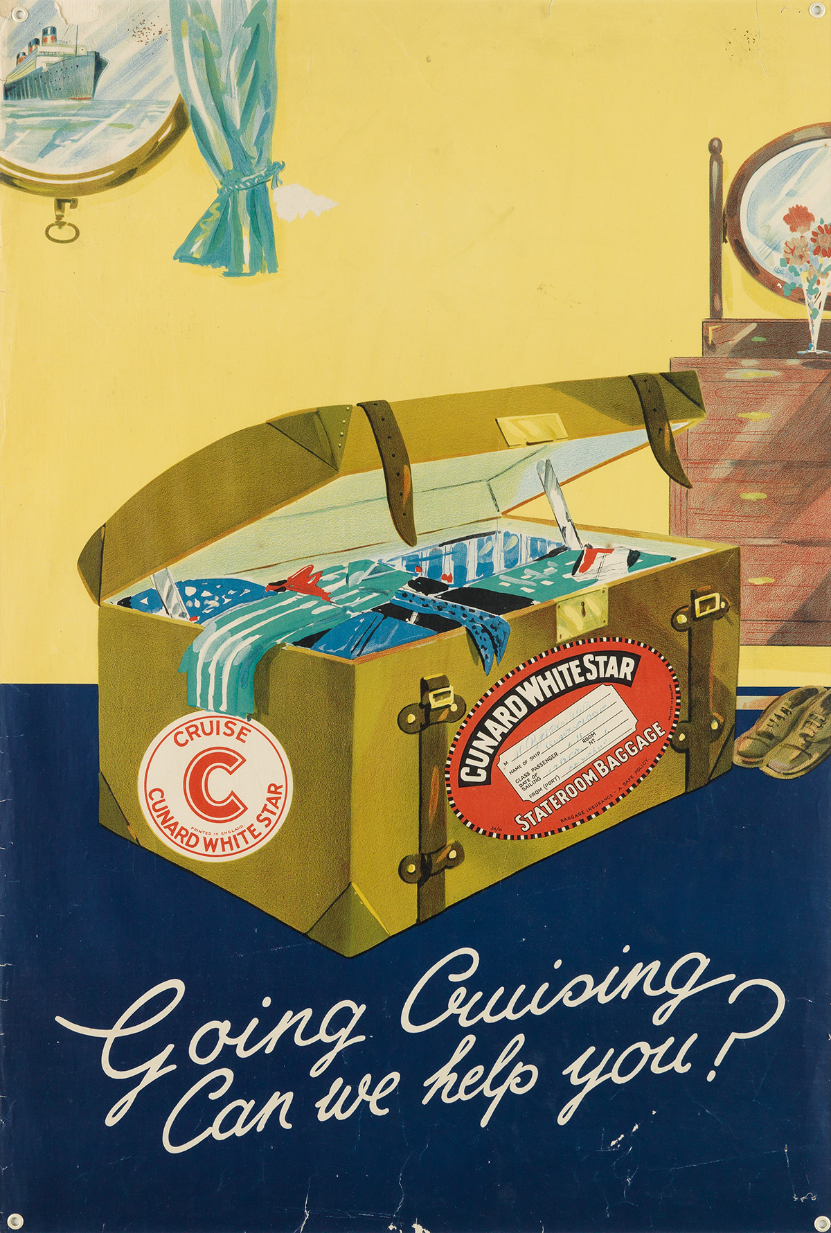 DESIGNER-UNKNOWN-GOING-CRUISING--CAN-WE-HELP-YOU--CUNARD-Cir