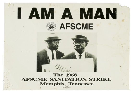 (CIVIL-RIGHTS)-KING-MARTIN-LUTHER-JR-I-AM-A-MAN-AFSCME-The-1