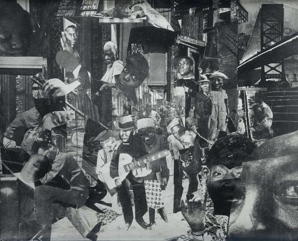 ROMARE BEARDEN (1911 - 1988) The Street.