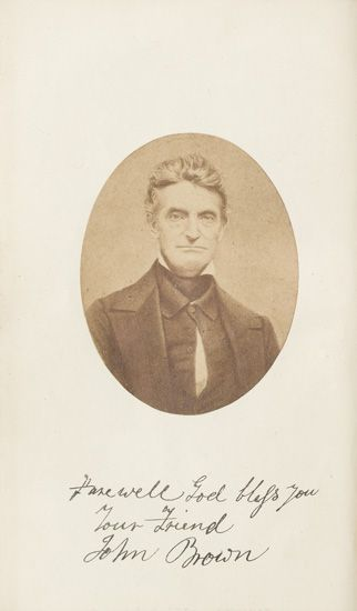 (SLAVERY AND ABOLITION)--[BROWN, JOHN] WEBB, RICHARD D. The Life and Letters of Captain John Brown, who was Executed at Charlestown, Vi