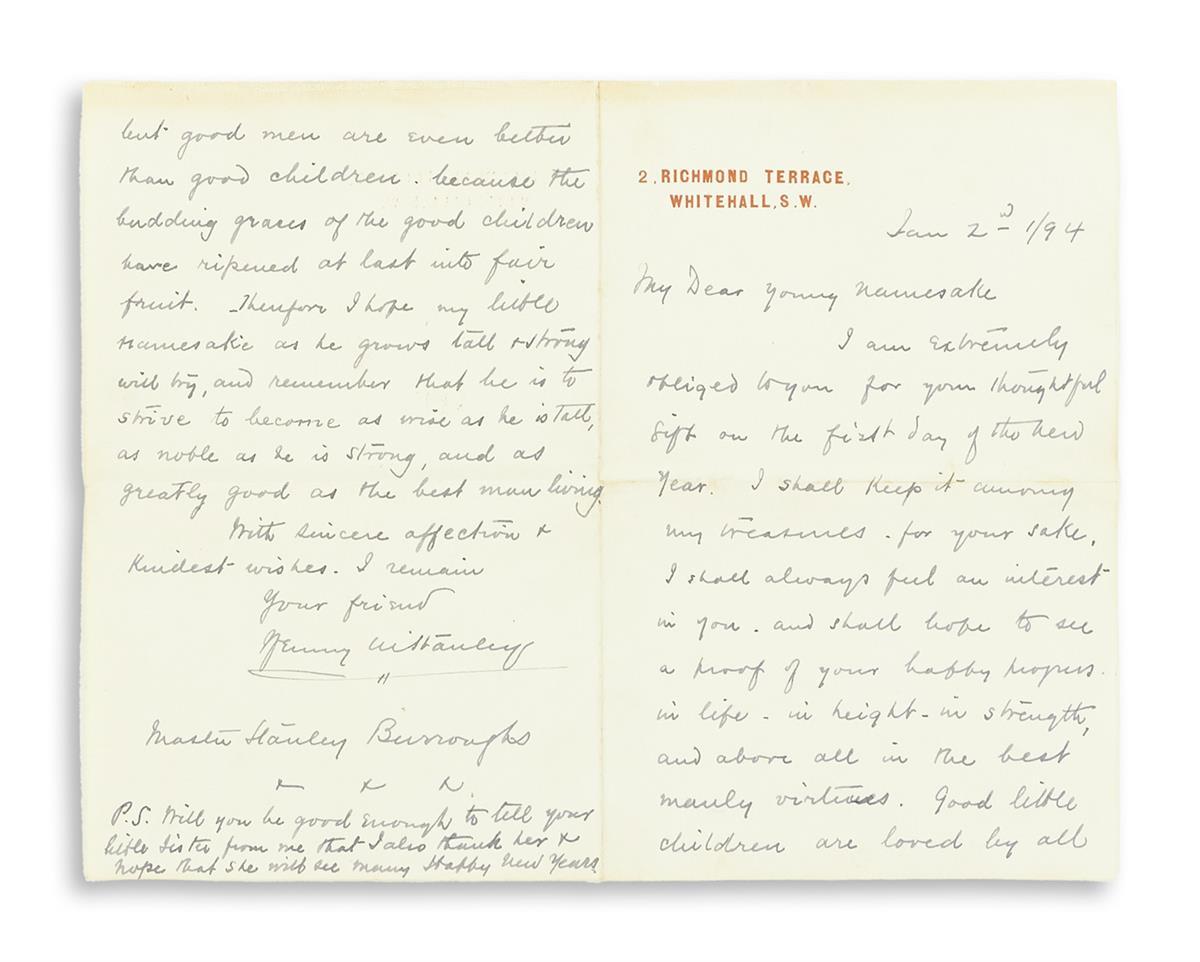 (EXPLORERS)-STANLEY-HENRY-MORTON-Autograph-Letter-Signed-Hen