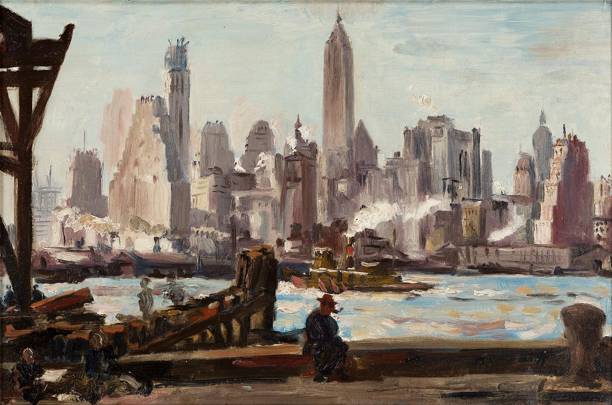 REGINALD-MARSH-The-Waterfront-New-York