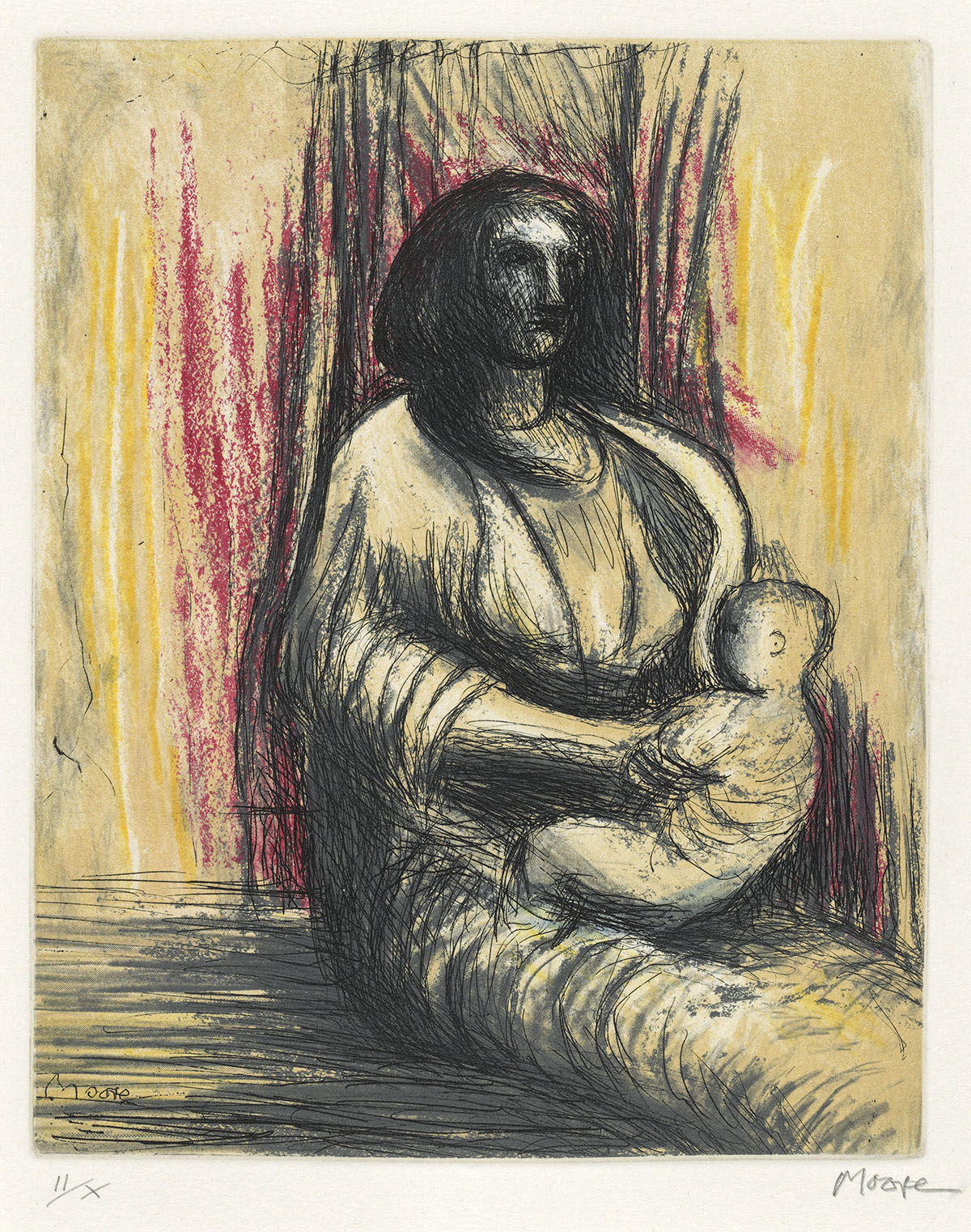 HENRY-MOORE-Mother-and-Child