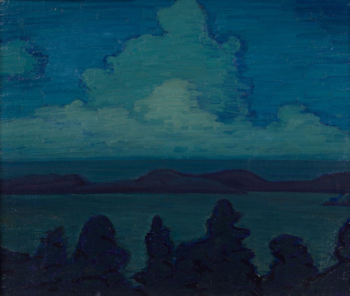 CARL LINDIN Bermuda at Twilight.