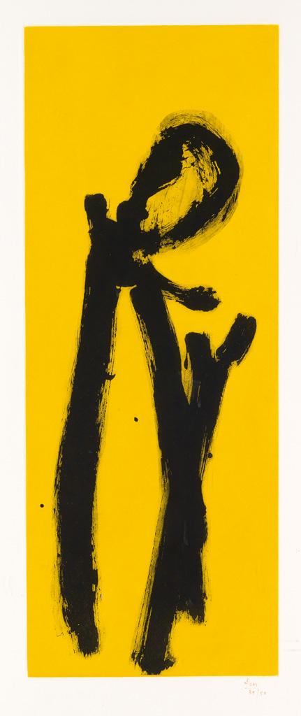 ROBERT MOTHERWELL Yellow Chord.