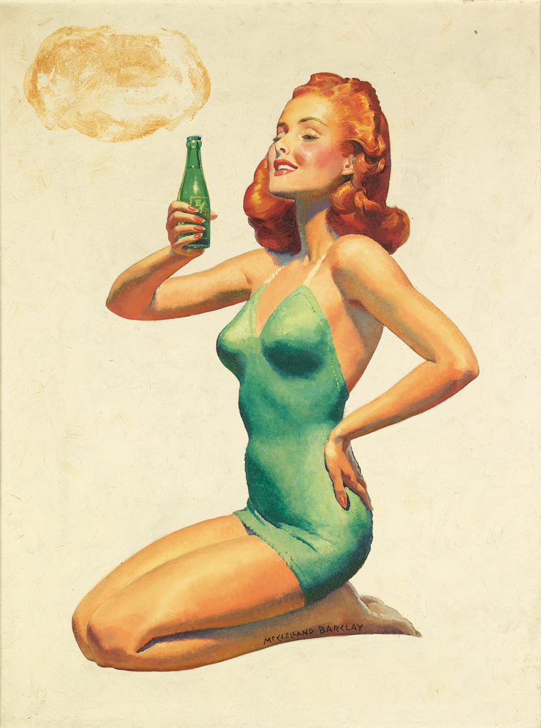 McCLELLAND BARCLAY. Royal Crown Ginger Ale.