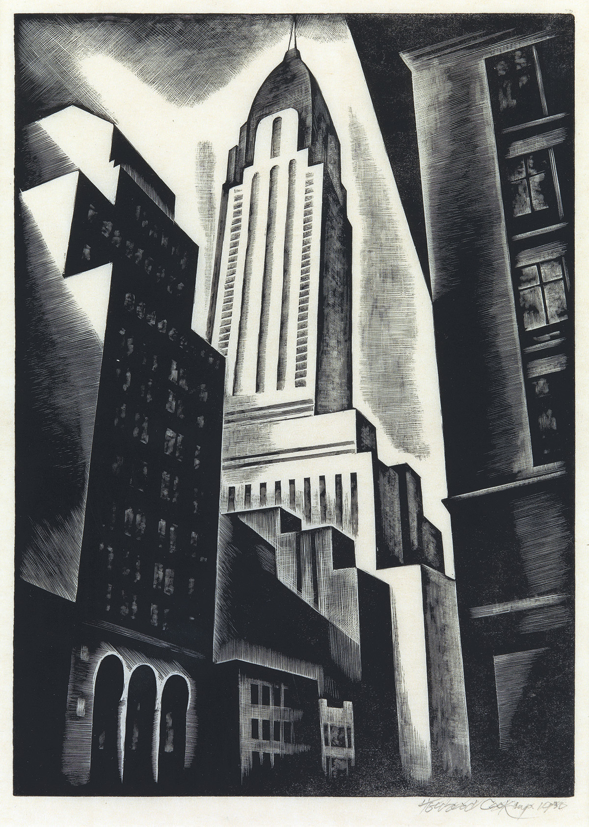 HOWARD-COOK-Chrysler-Building