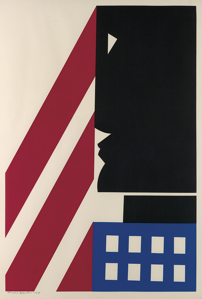 ROMARE BEARDEN (1911 - 1988) Untitled (Black in America).