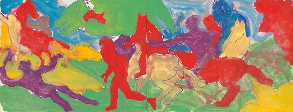BOB THOMPSON (1937 - 1966) Untitled (Old Master Study).
