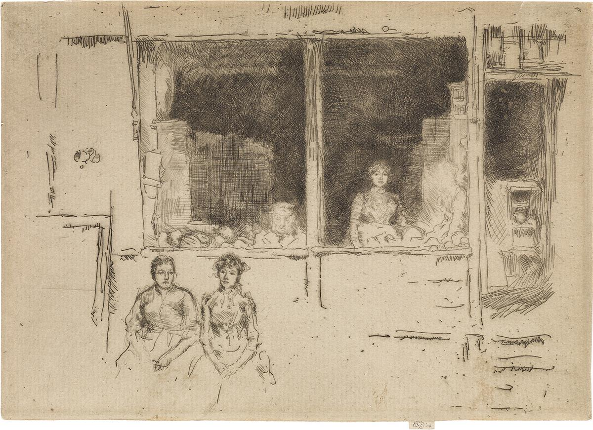 JAMES A. M. WHISTLER Melon Shop, Houndsditch.