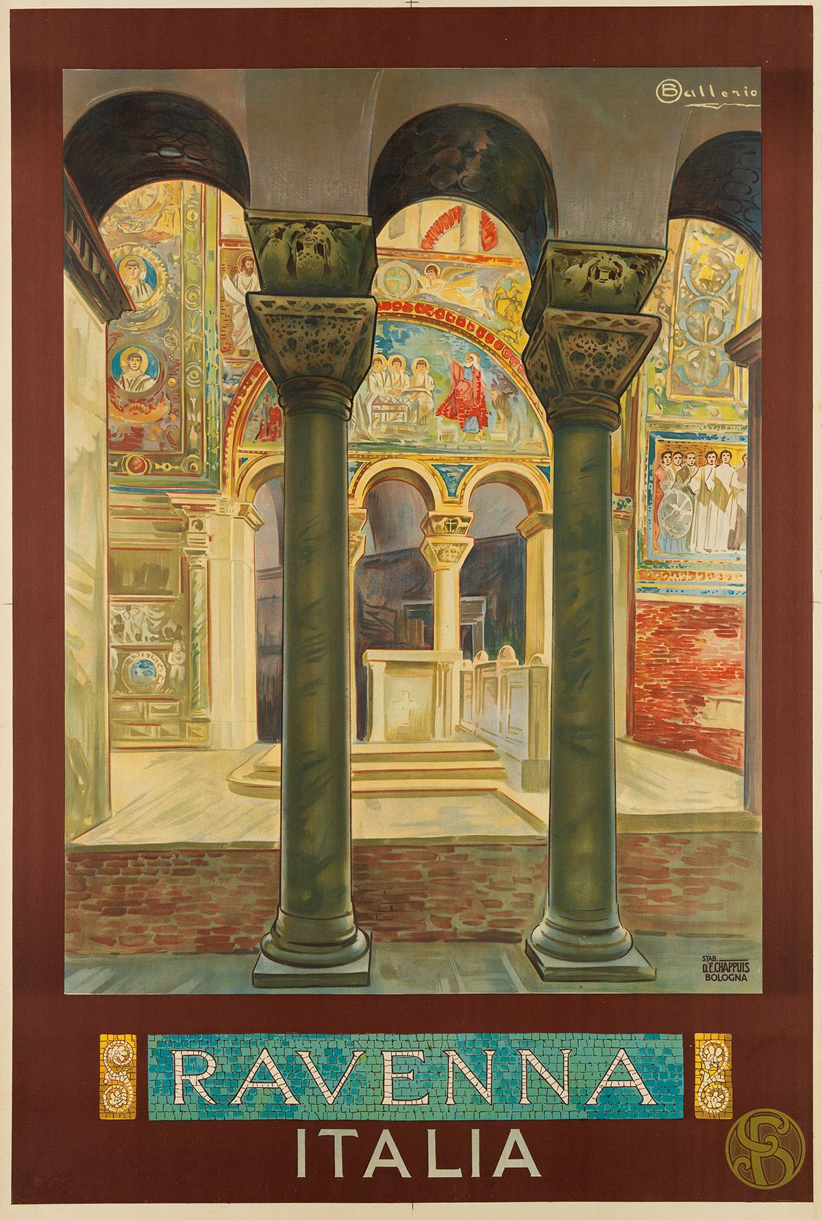 OSVALDO-BALLERIO-(1870-1942)-RAVENNA--ITALIA-Circa-1914-44x29-inches-111x75-cm-E-Chappuis-Bologna