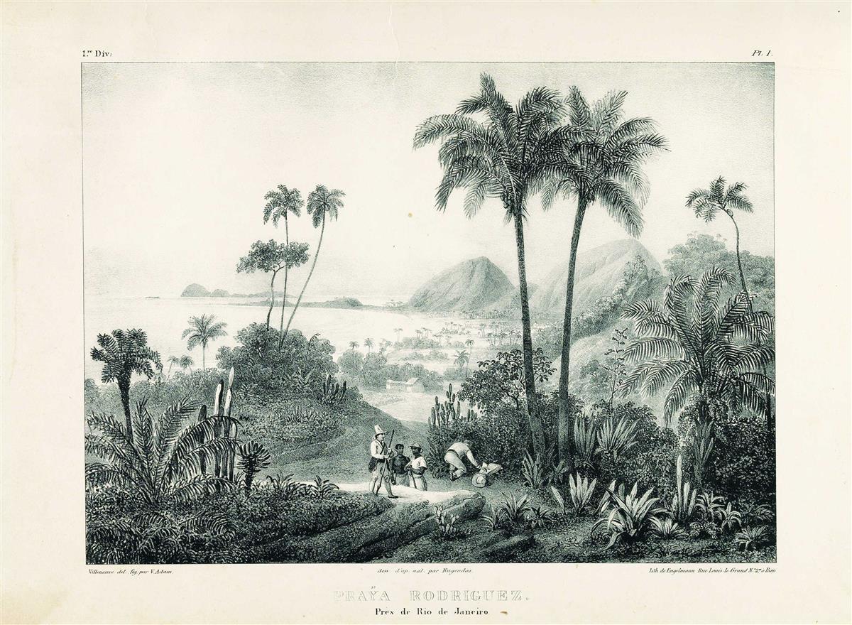 (BRAZIL.) Rugendas, Johann Moritz. Malerische Reise in Brasilien.