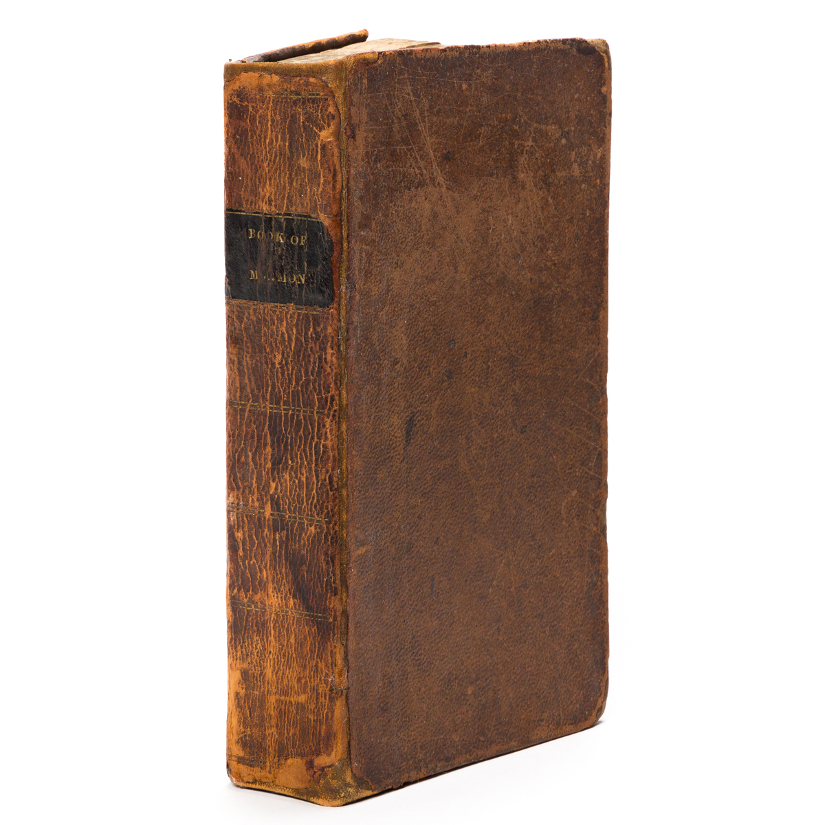 (MORMONS.) The Book of Mormon: An Account Written by the Hand of Mormon, upon Plates Taken from the Plates of Nephi.