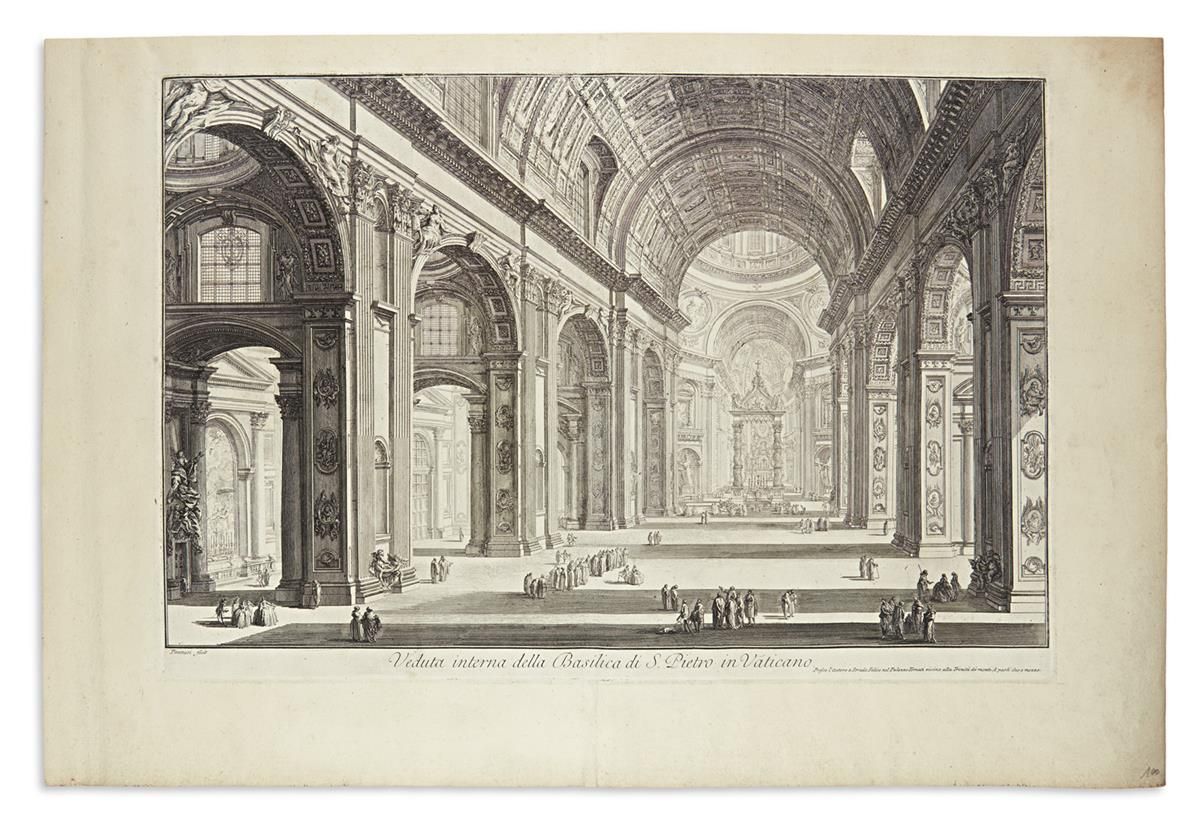 PIRANESI-GIOVANNI-BATTISTA-Veduta-Interna-della-Basilica-di-