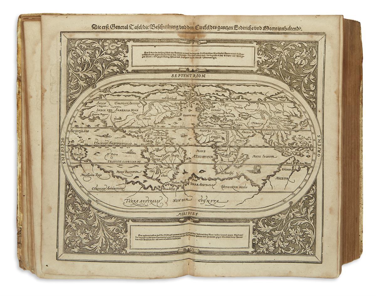 MÜNSTER, SEBASTIAN. Cosmographey: das ist, Beschreibung Aller Länder.