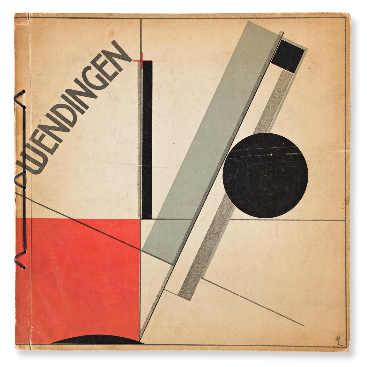 EL LISSITZKY (1890-1941).  WENDINGEN. Deluxe hardcover edition. Volume IV, Number 11. 1921. 13x12½ inches, 33x31¾ cm. De Hooge Brug, Am