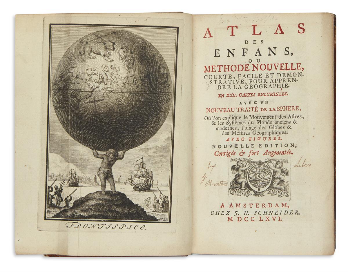 (JUVENILE)-Sepp-Christian;-engraver-Atlas-des-Enfans