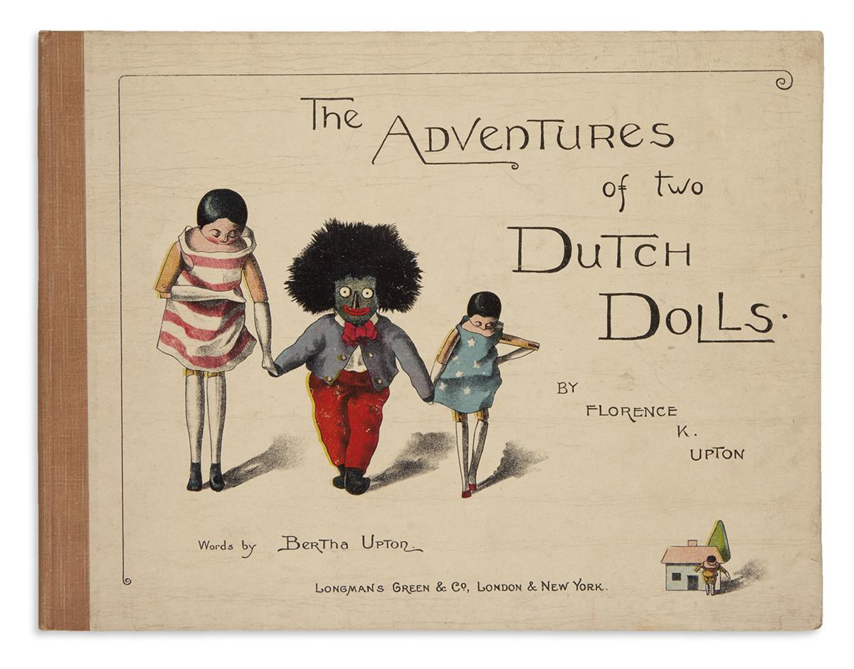 (CHILDRENS LITERATURE.) UPTON, FLORENCE K. and BERTHA. The Adventures of Two Dutch Dolls.