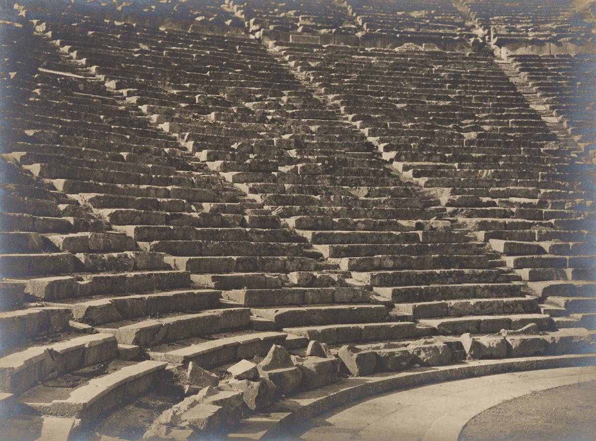 ARNOLD-GENTHE-(1869-1942)-Theatre-of-Epidaurus