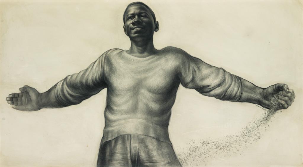 CHARLES WHITE (1918 - 1979) O Freedom.