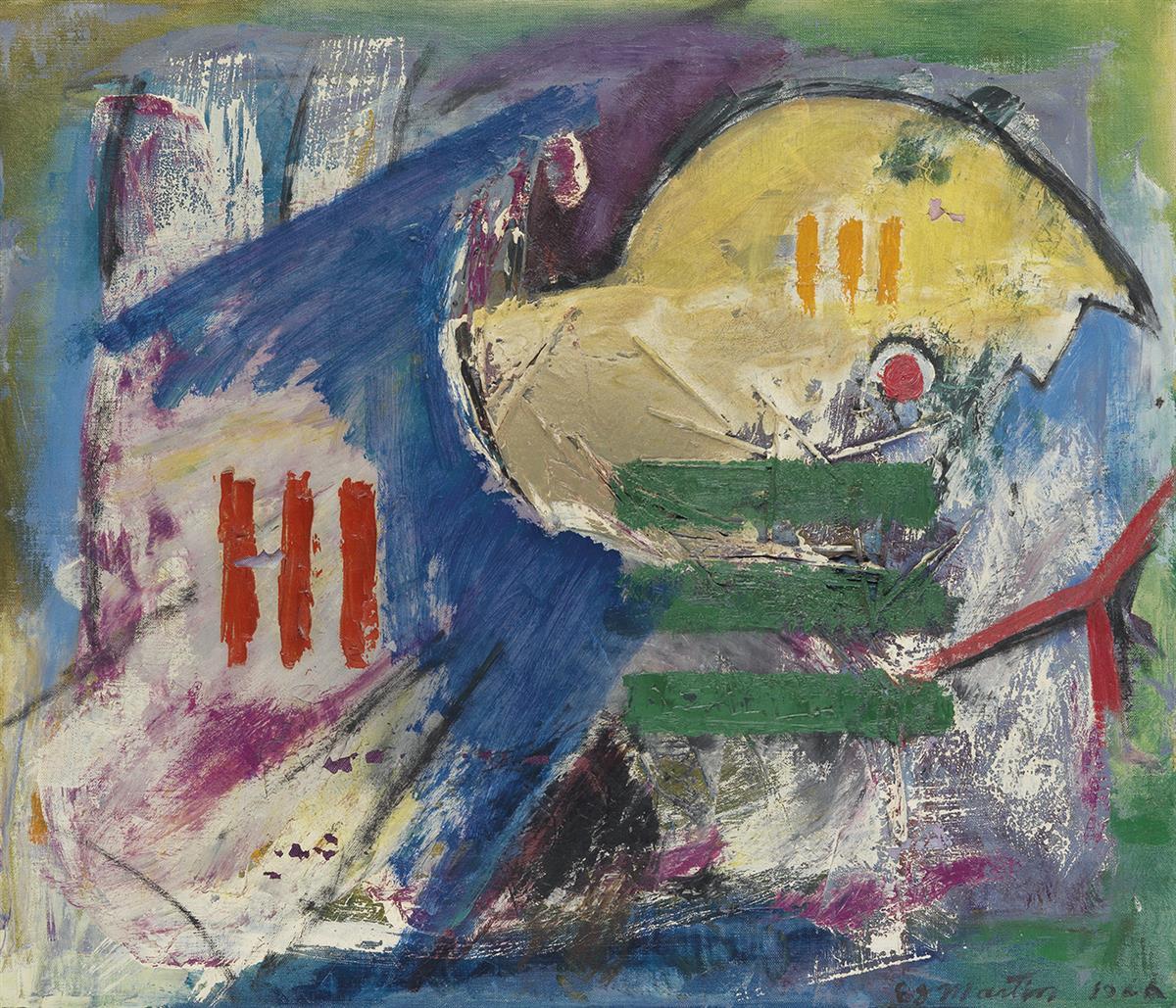 EUGENE-J-MARTIN-(1938---2005)-Bird-in-Rake