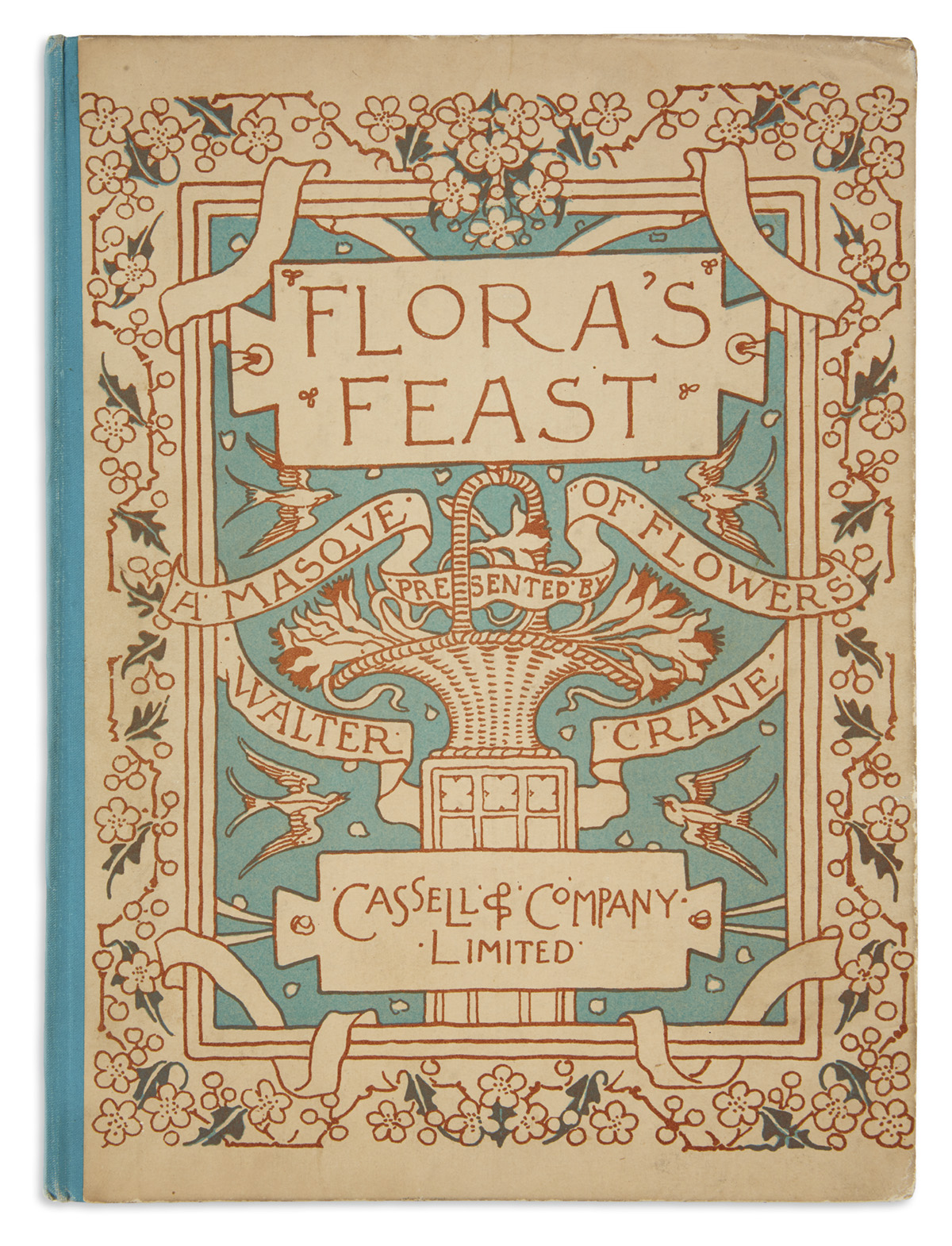 (CHILDRENS-LITERATURE)-CRANE-WALTER-Floras-Feast-A-Masque-of-Flowers