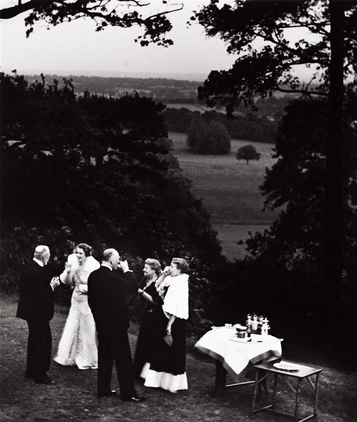 BILL-BRANDT-(1904-1983)-Cocktails-in-a-Surrey-Garden