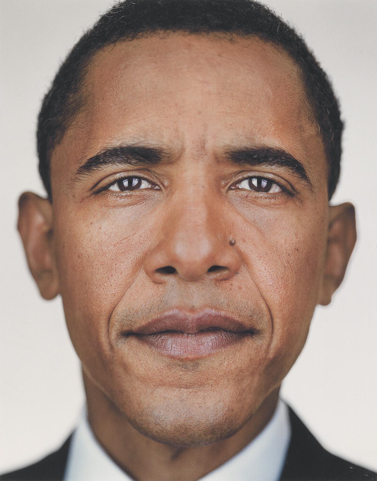 MARTIN-SCHOELLER-(1968--)-President-Barack-Obama