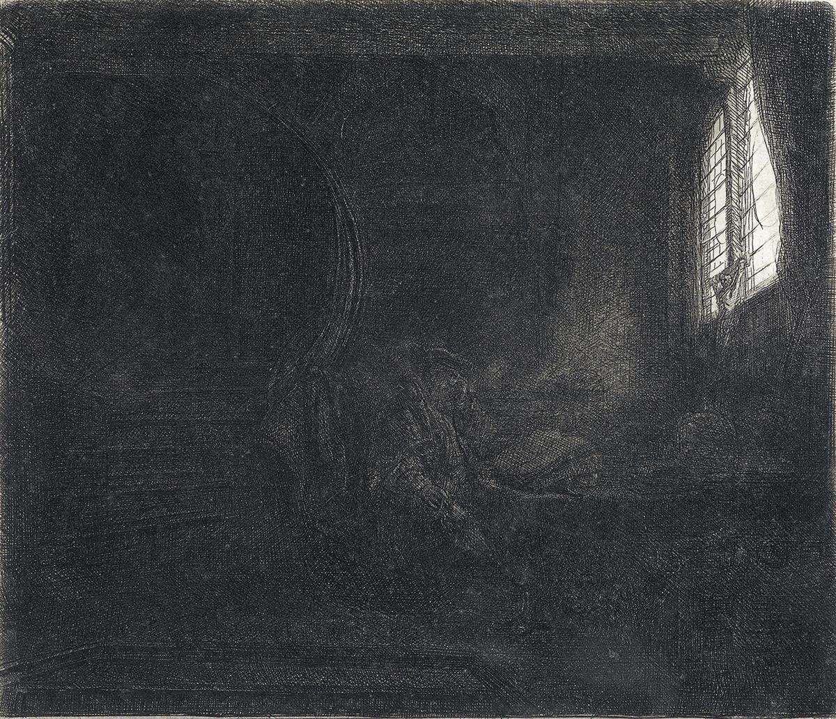 REMBRANDT-VAN-RIJN-St-Jerome-in-a-Dark-Chamber
