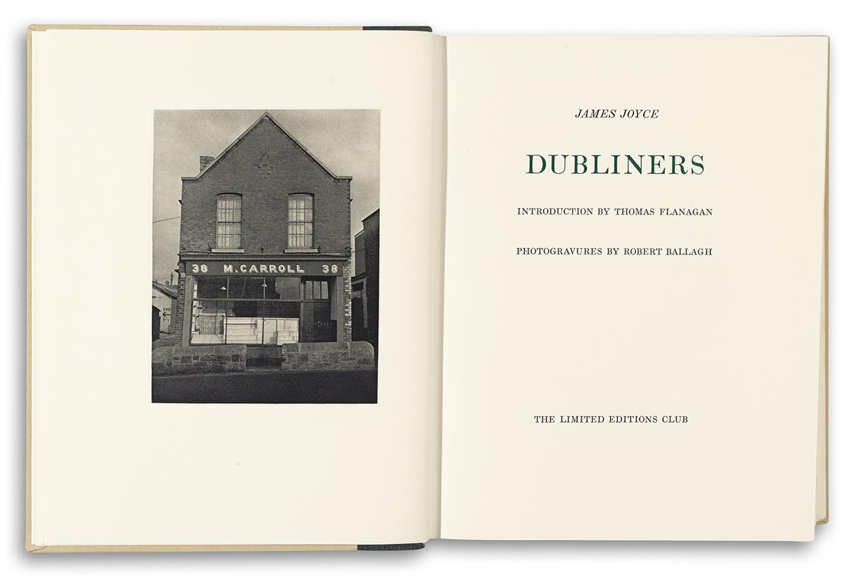 (THE-LIMITED-EDITIONS-CLUB)-Joyce-James-Dubliners