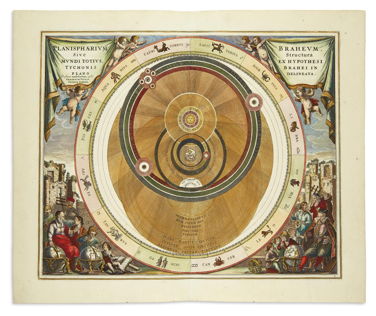 (CELESTIAL)-Cellarius-Andreas-Planisphaerium-Braheum-Sive-St