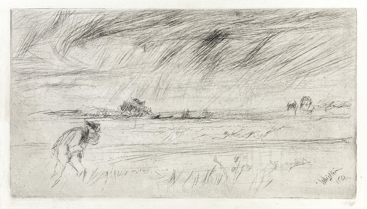 JAMES A. M. WHISTLER The Storm.