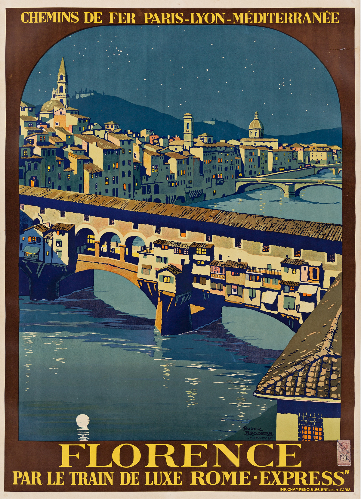 Roger-Broders-(1883-1953)--FLORENCE-1921