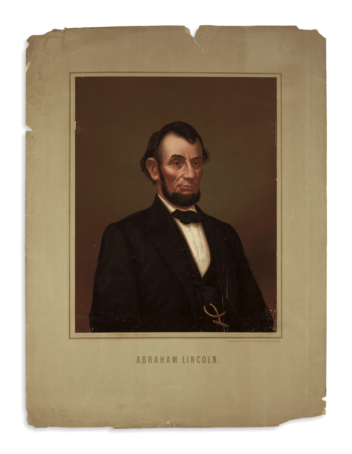 (PRINTS--PRESIDENTIAL)-Group-of-23-prints-of-Lincoln-publish