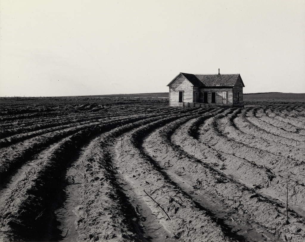 DOROTHEA LANGE (1895-1965) Tractored Out, Childress County, Texas.