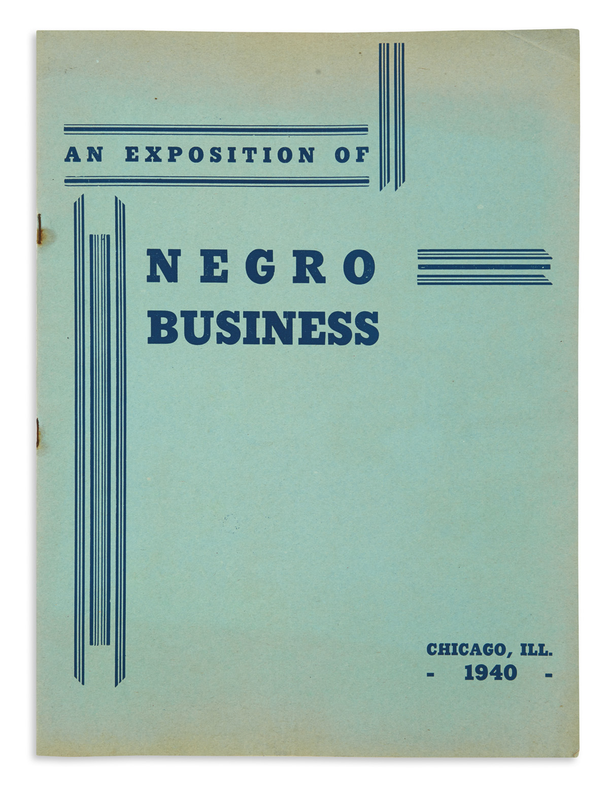 (BUSINESS)-Photograph-and-pamphlet-from-the-American-Negro-E
