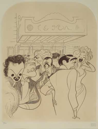 Entertainers [The World Premiere].  Judy Garland, Clark Gable, Marilyn Monroe, Humphrey Bogart, Spencer Tracy, and Ethel Barrymore. Etc