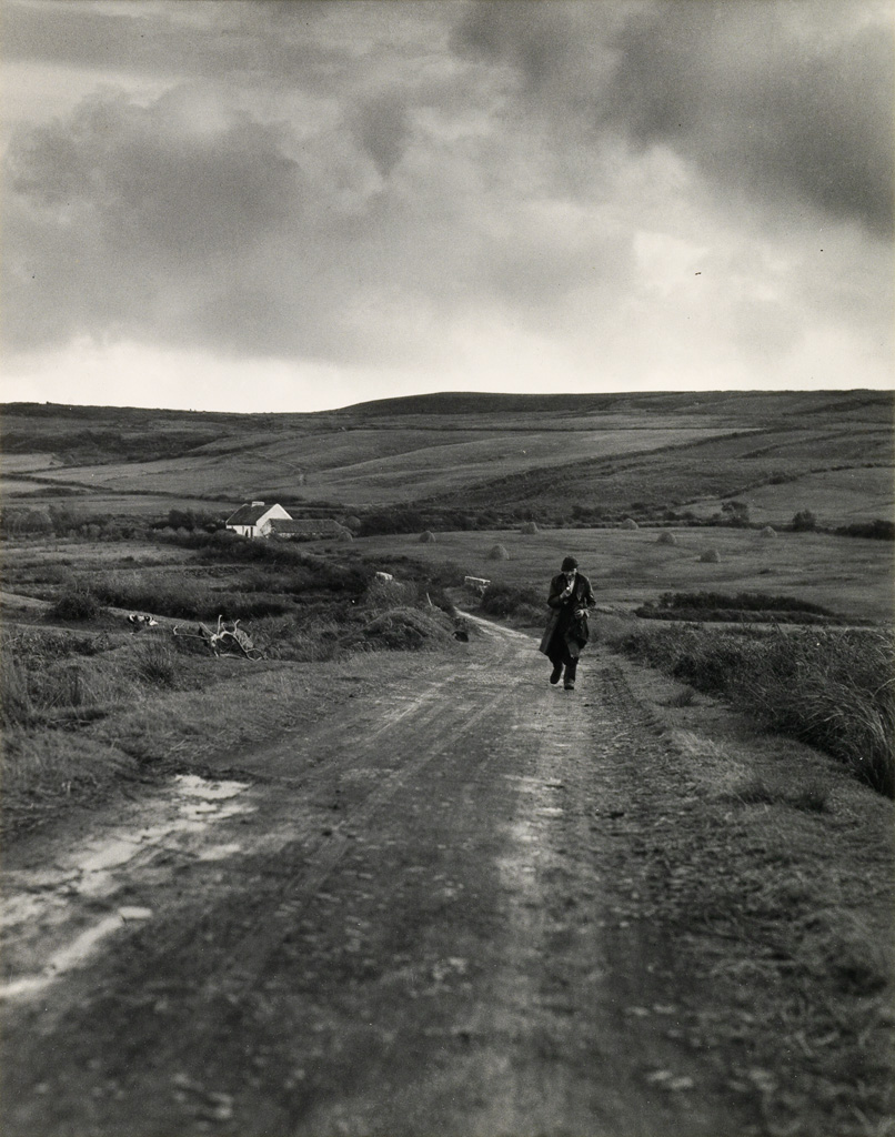 DOROTHEA LANGE (1895-1965) Country Road, County Clare, Ireland.