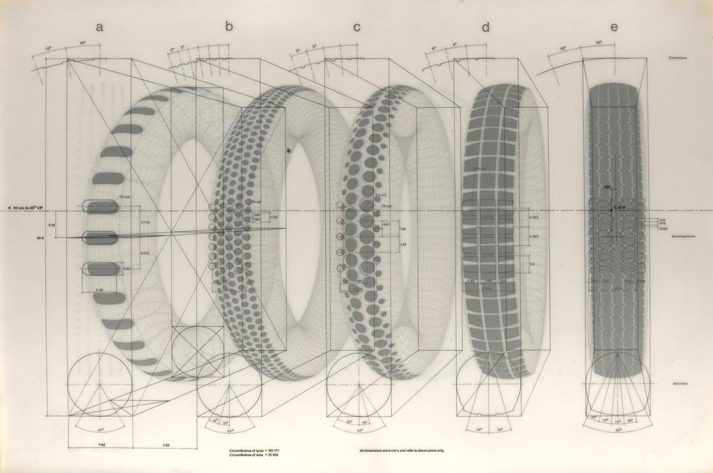 RICHARD-HAMILTON-Five-Tyres-Remoulded