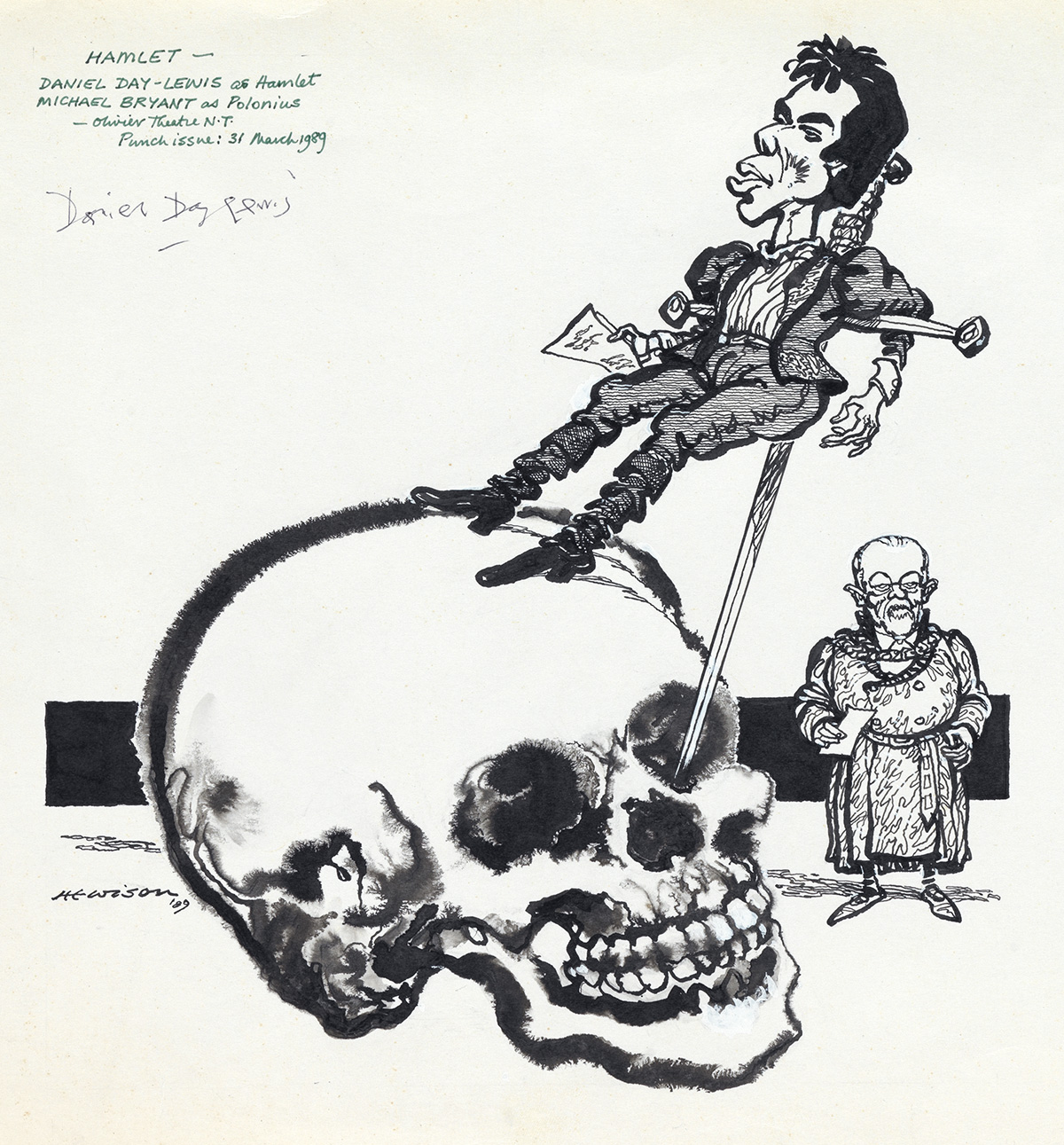 THEATER-SHAKESPEARE-WILLIAM-HEWISON-Daniel-Day-Lewis-as-Hamlet