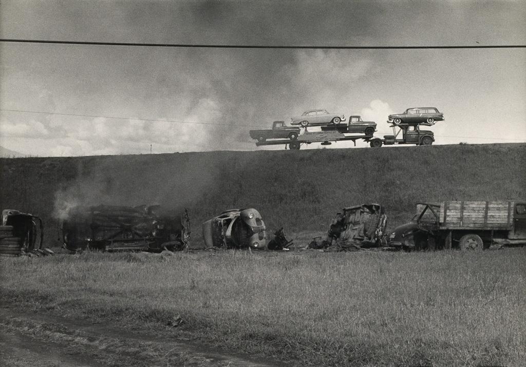 DOROTHEA LANGE (1895-1965) U.S. Highway 40, California.