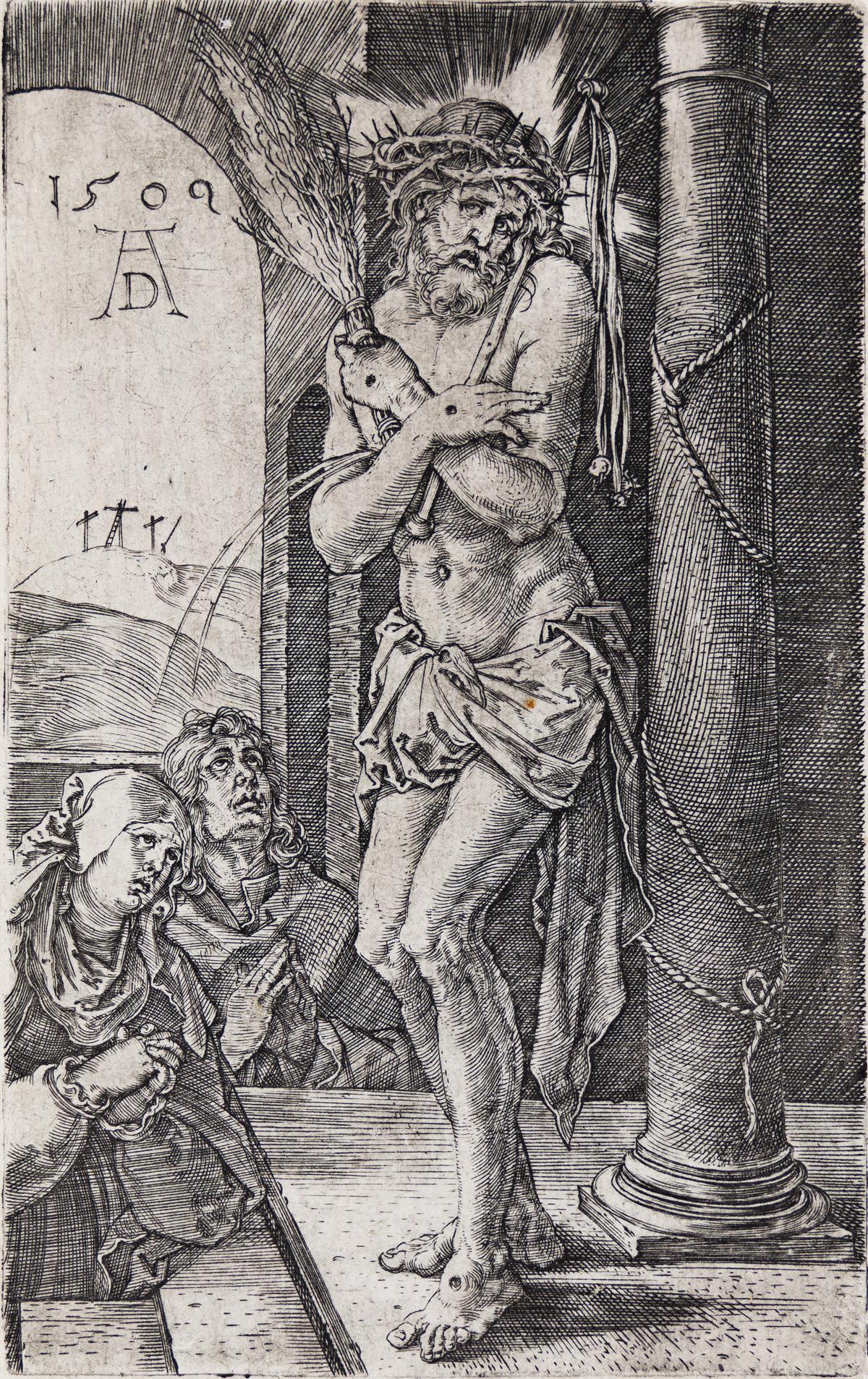 ALBRECHT DÜRER The Man of Sorrows Standing by the Column.