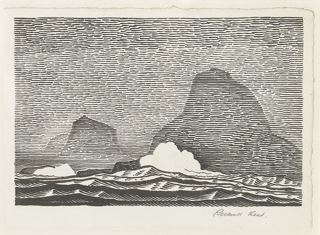 ROCKWELL KENT. Saturday, July 12th, Eighth Day at Sea.