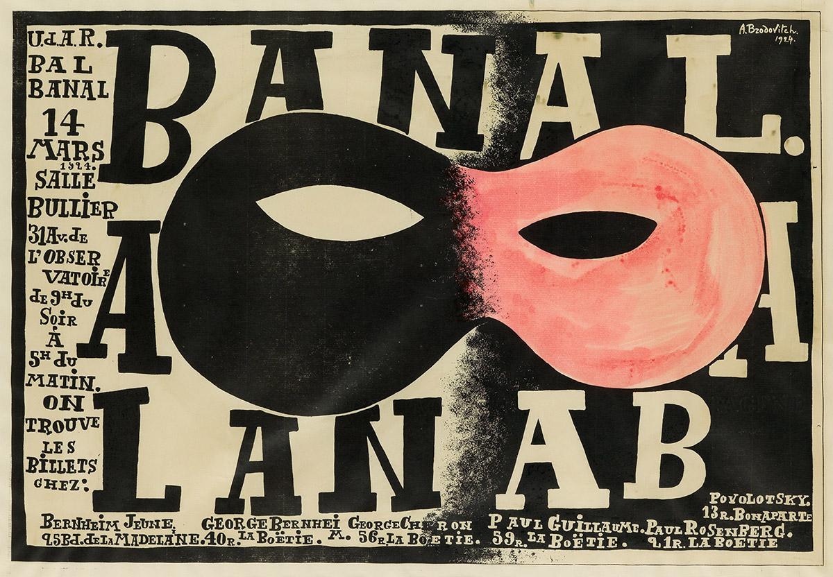 ALEXEY BRODOVITCH (1898-1971).  BAL BANAL. 1924. 17x24¼ inches, 43x61½ cm.