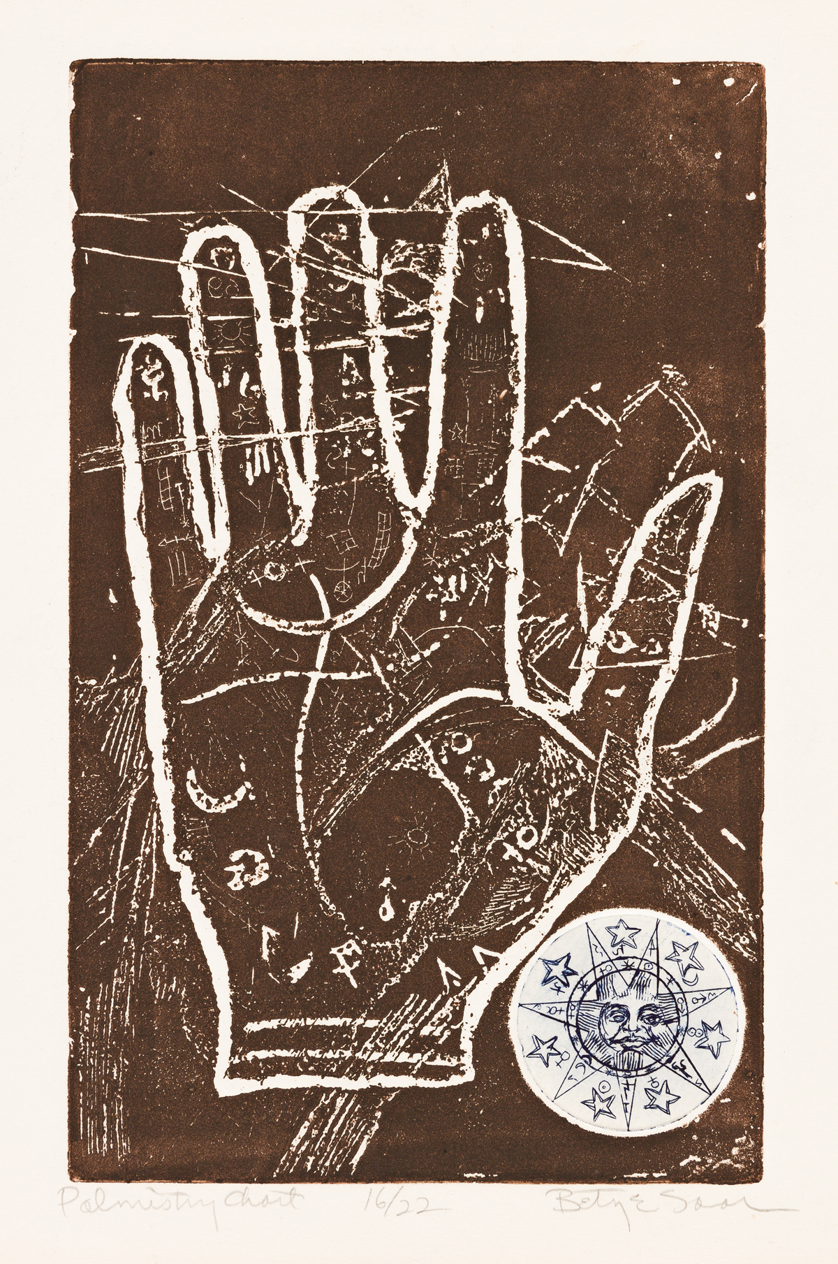 BETYE SAAR (1926 - ) Hand Book.