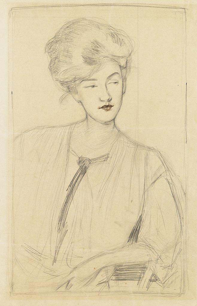 GERTRUDE-ALBRIGHT-Portrait-of-a-Woman