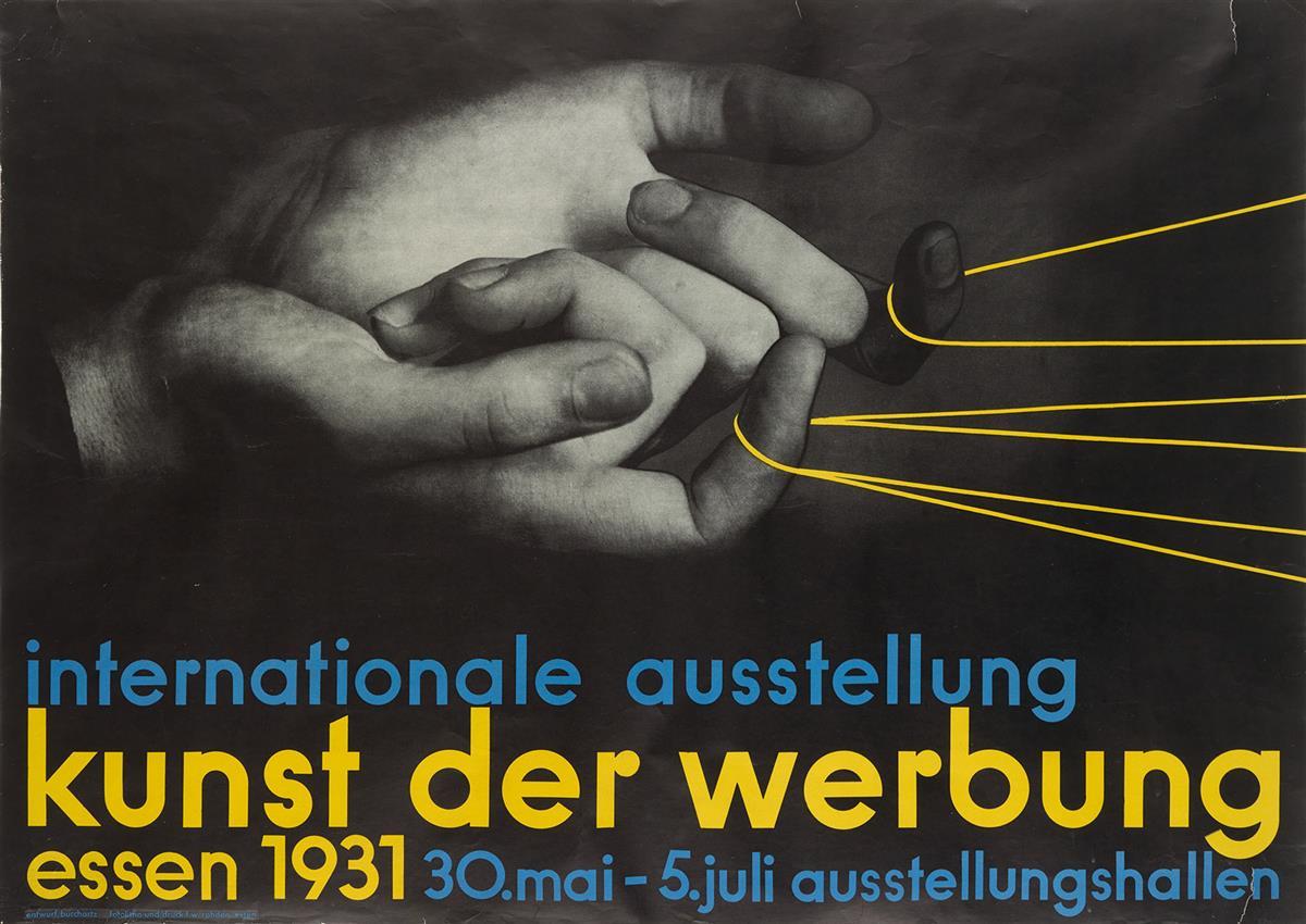 MAX-BURCHARTZ-(1887-1961)-INTERNATIONALE-AUSSTELLUNG--KUNST-