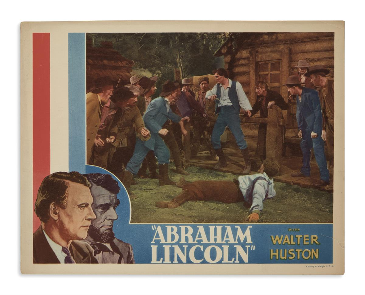 (EPHEMERA)-Group-of-20th-century-Lincoln-ephemera