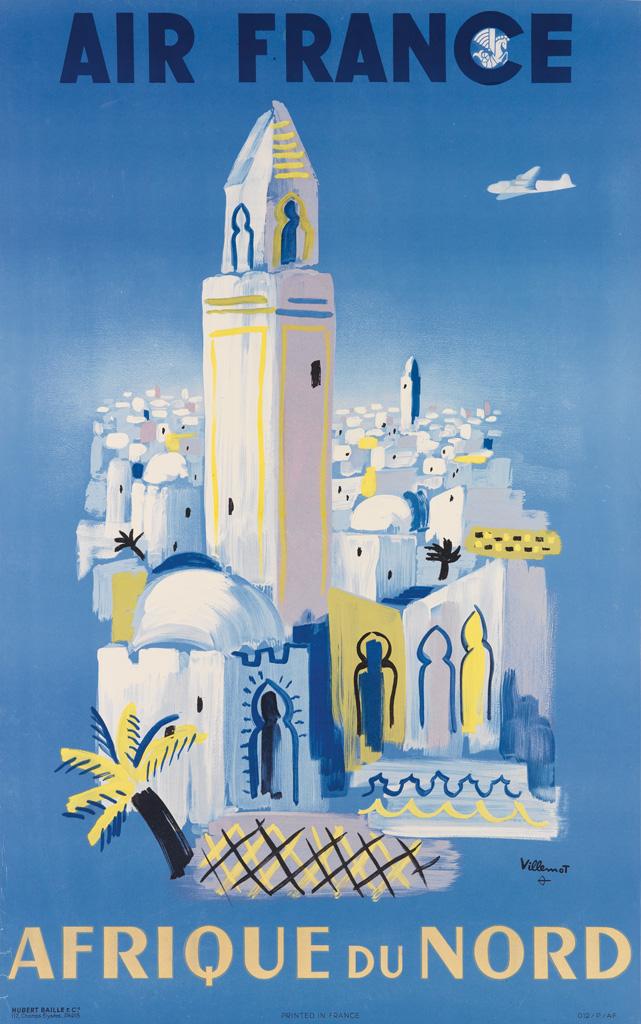 BERNARD-VILLEMOT-(1911-1989)-AIR-FRANCE--AFRIQUE-DU-NORD-194